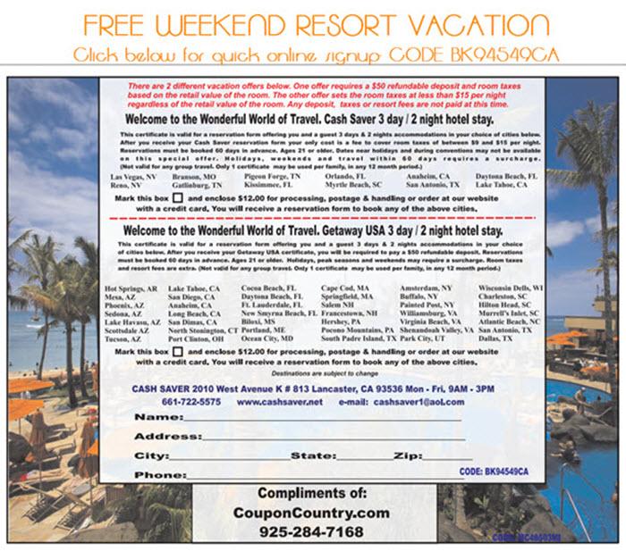 Travel Like A King - Free Weekend Luxury Resort